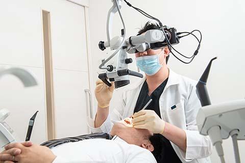 デンタルケア平尾の虫歯治療