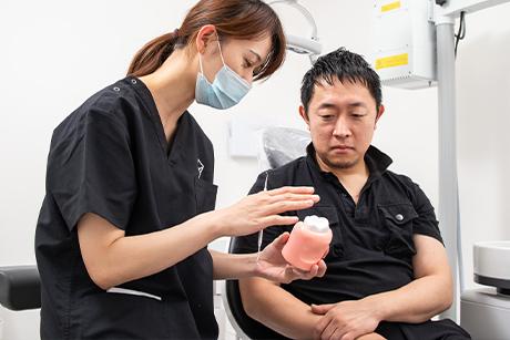 デンタルケア平尾の歯周病治療治療